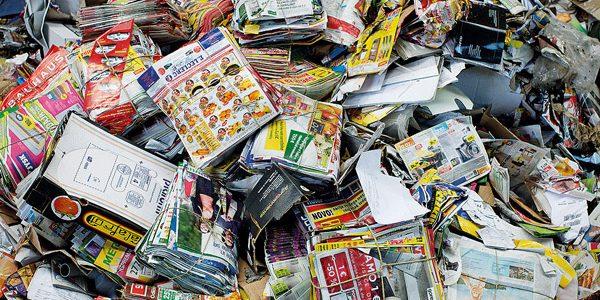 Zbiralna akcija odpadnega papirja